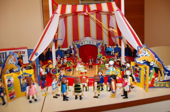 Cirque playmobil construction
