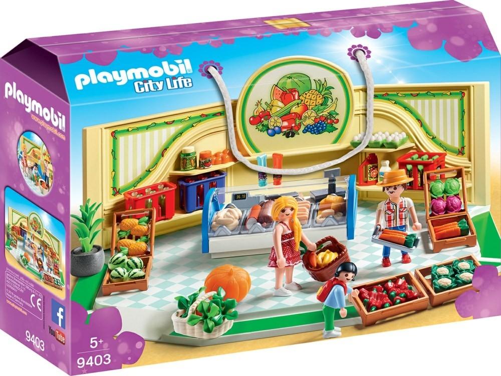 Playmobil city life negozi