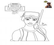 Coloriage Fortnite Chevalier Noir Escapadeslegendes Fr