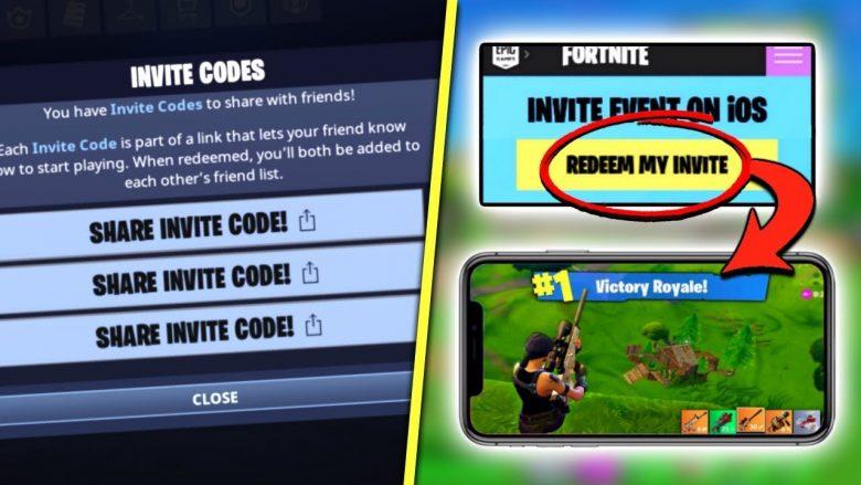 Fortnite mobile redeem code