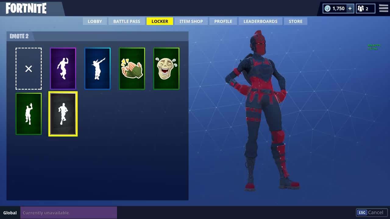 Fortnite emote locker