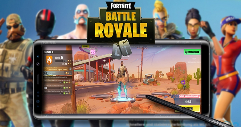 Fortnite battle royale play store