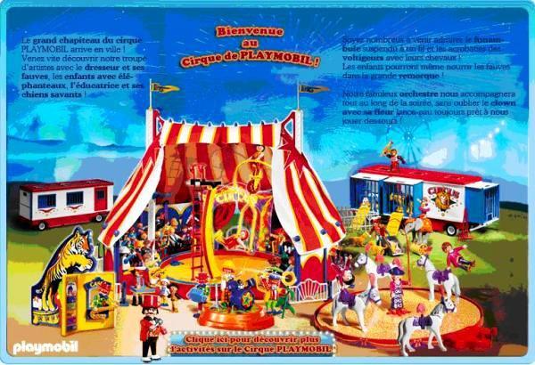 Playmobil cirque chien