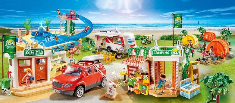 Playmobil boite camping