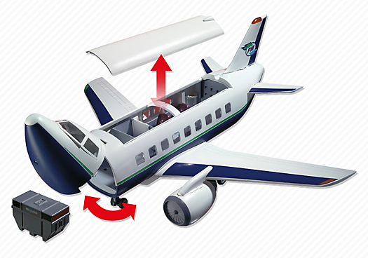 Playmobil avion explorateur