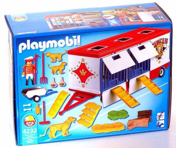 Cirque playmobil mode d'emploi