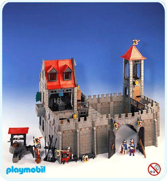 Notice chateau fort playmobil 3446