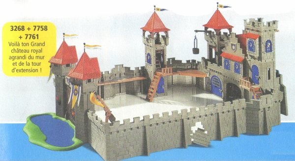 Playmobil chateau fort 3268 notice