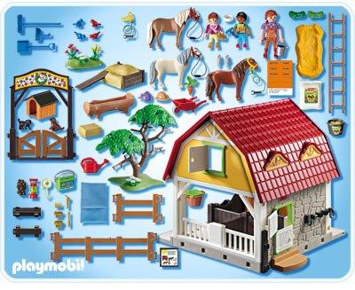 Centre equestre playmobil 5221 notice