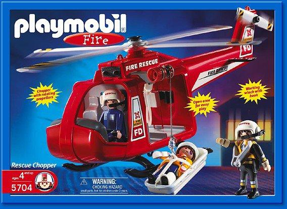 Zodiac playmobil pompier