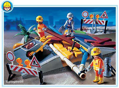 Playmobil city action superset construction