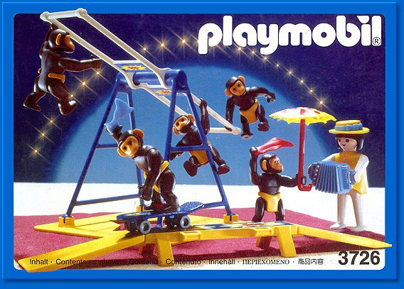 Notice playmobil cirque romani 3720
