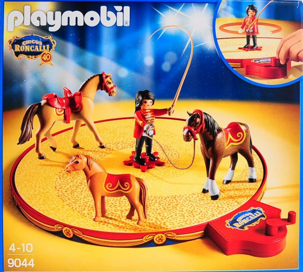 Playmobil cirque chevaux