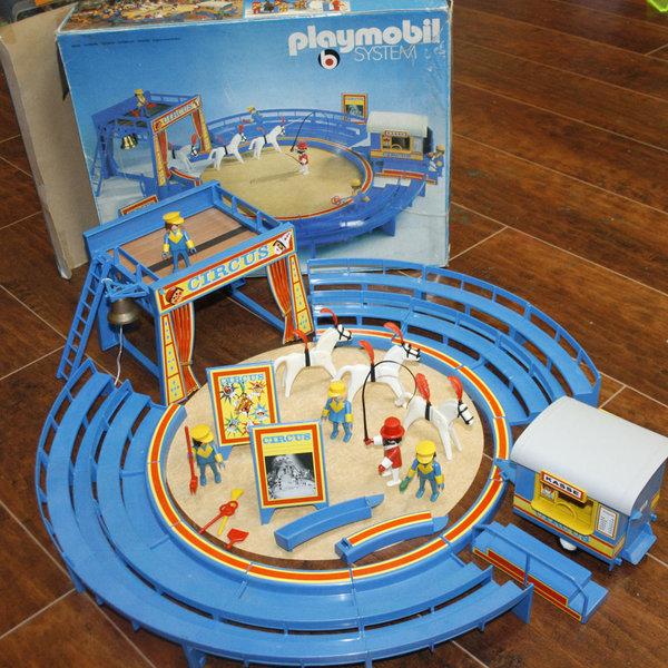 Boite playmobil cirque