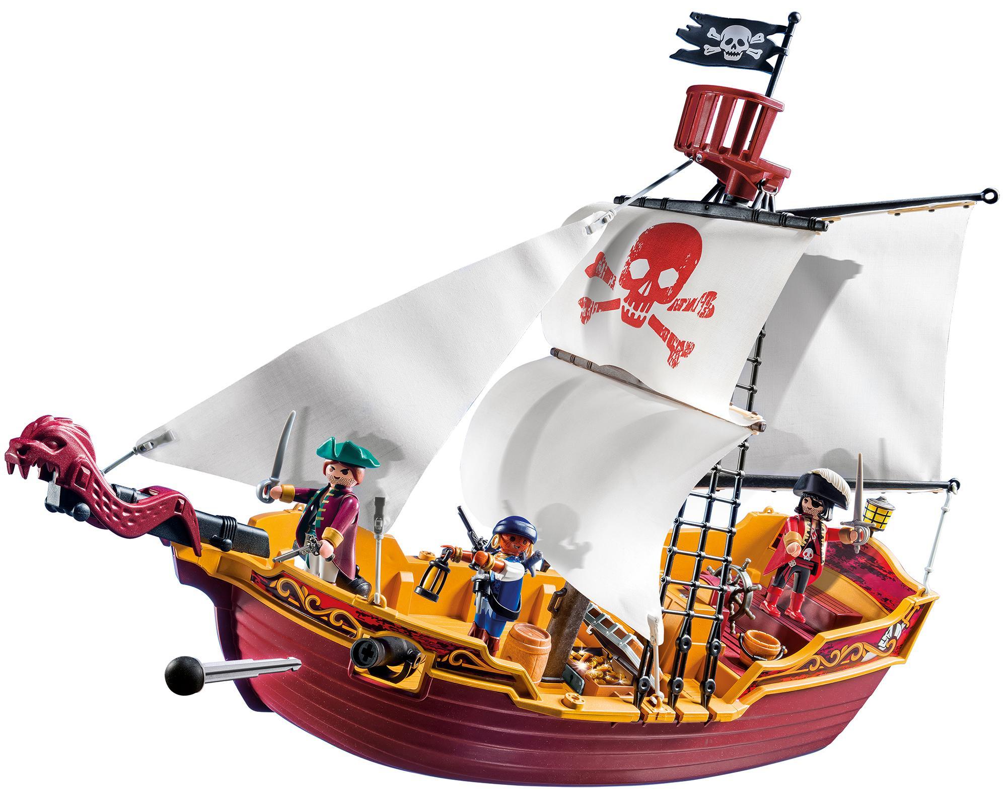 Playmobil squelette pirate