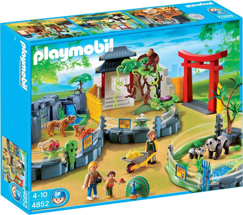 Playmobil zoo set up
