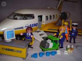 Avion playmobil segunda mano