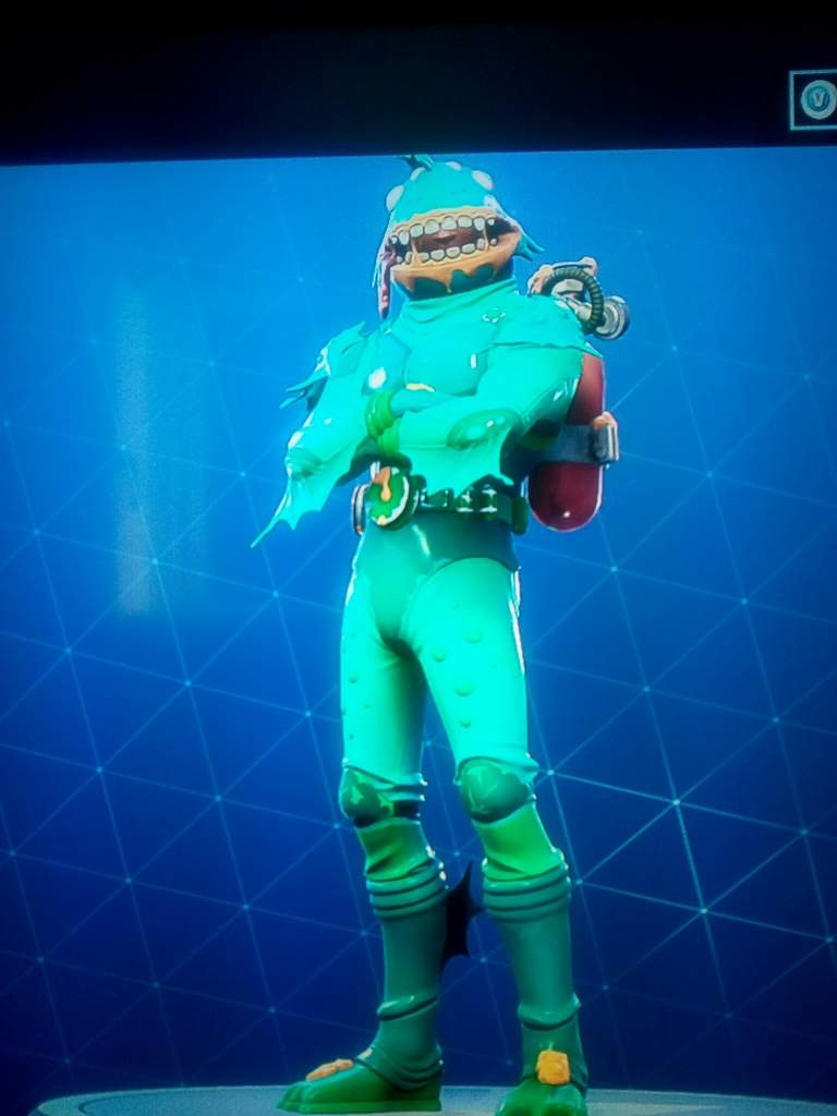 Fortnite skin homme poisson