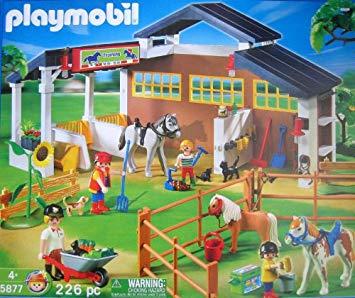 Amazon playmobil fattoria