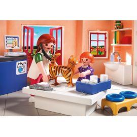 Playmobil city life 5529 clinique vétérinaire avec animaux