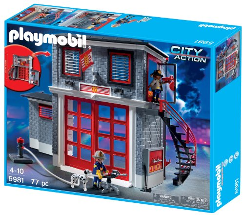 Playmobil station pompier