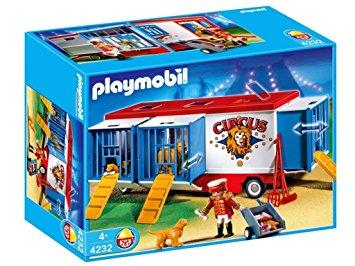 Playmobil cirque neuf