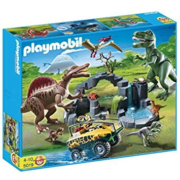 Amazon playmobil jurassic world