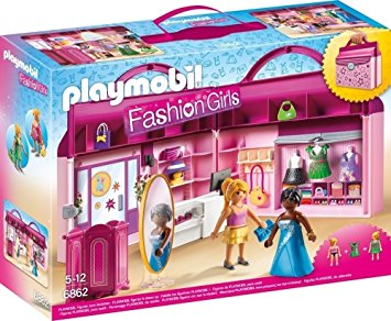 Playmobil magasin valise