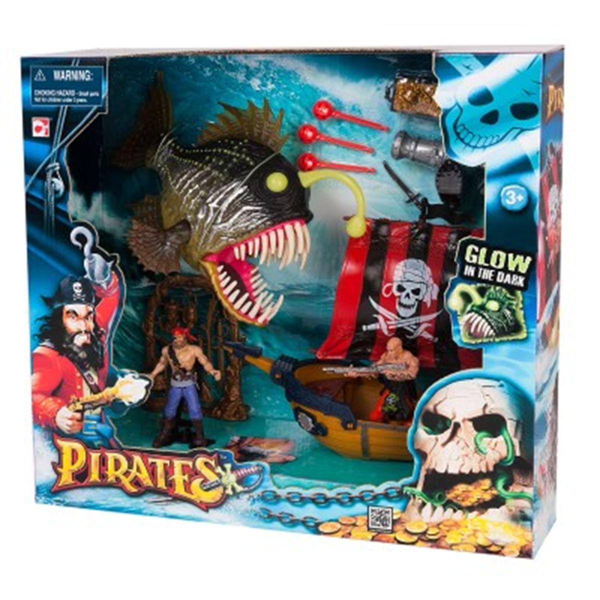 Playmobil bateau pirate la grande recre