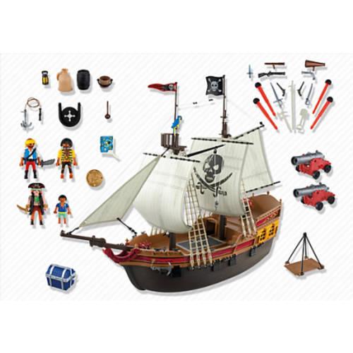 Playmobil pirate ship large