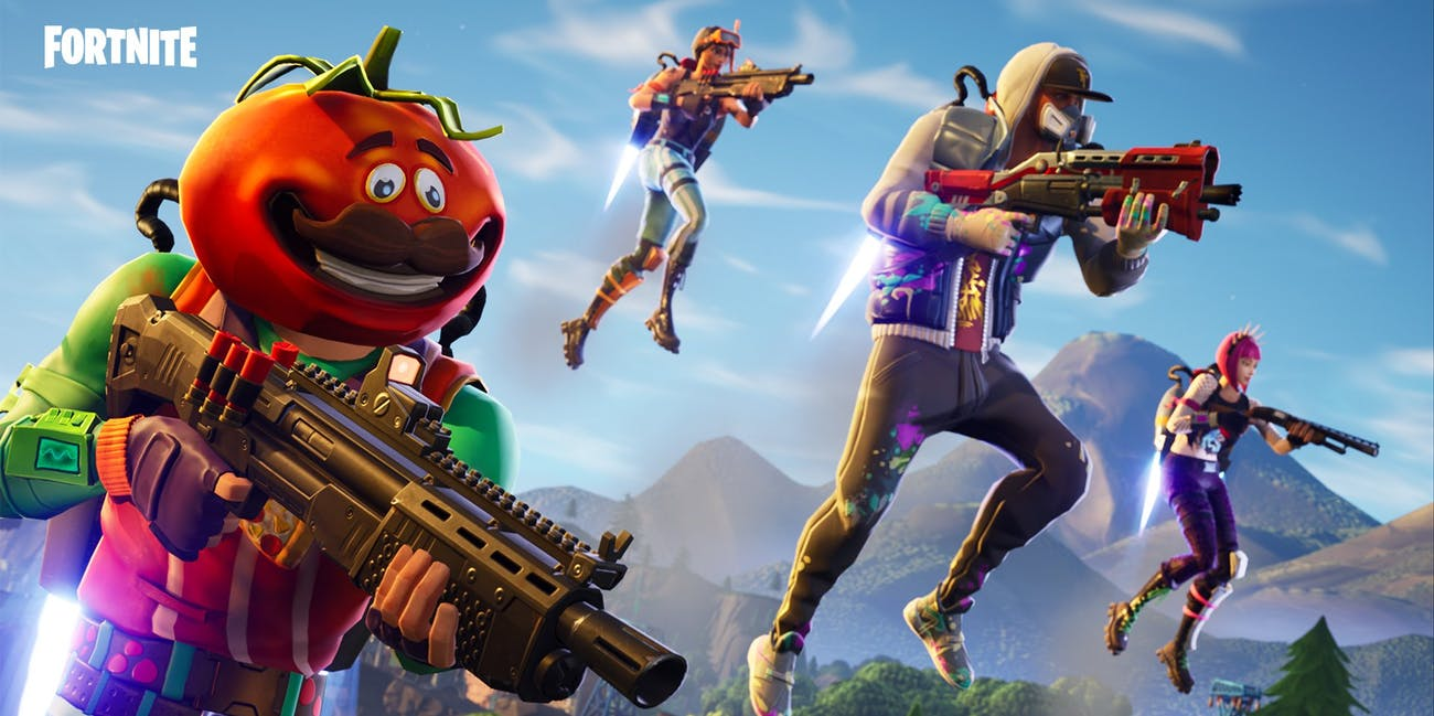 Epic games fortnite jetpack update