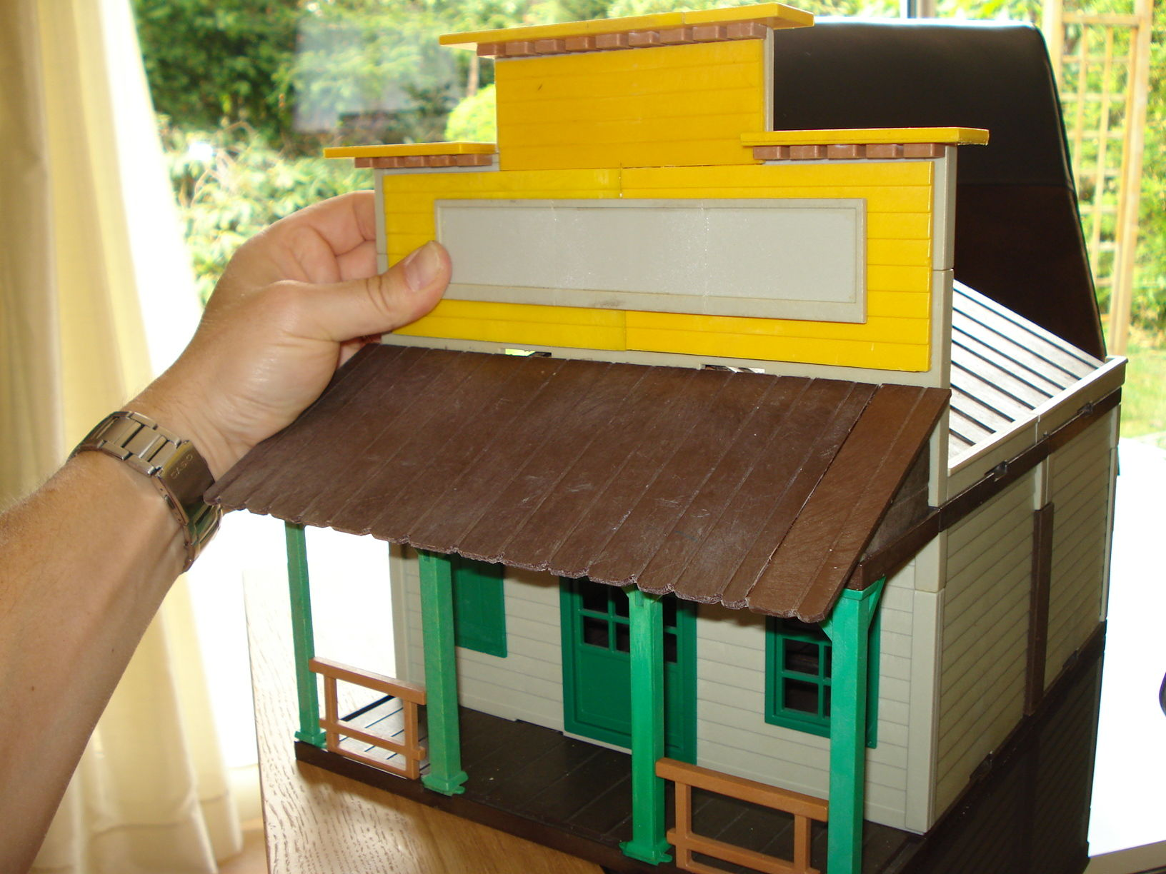 Playmobil maison western custom
