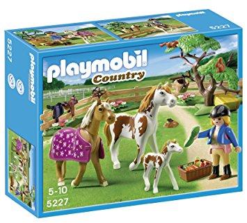Playmobil amazon chevaux
