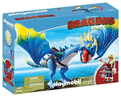 Playmobil dragon tempete