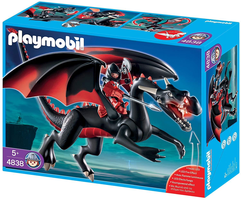Playmobil dragon rouge 4838