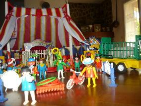 Chapiteau cirque playmobil occasion