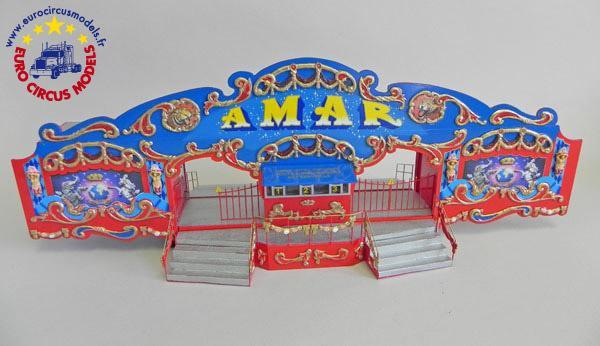 Cirque amar playmobil