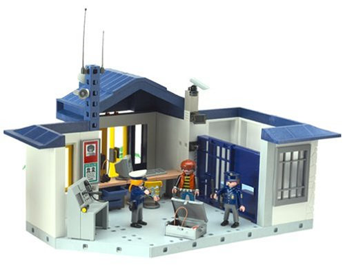 Playmobil 4260 voiture police patrouille