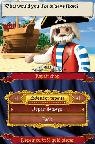 Playmobile pirate game