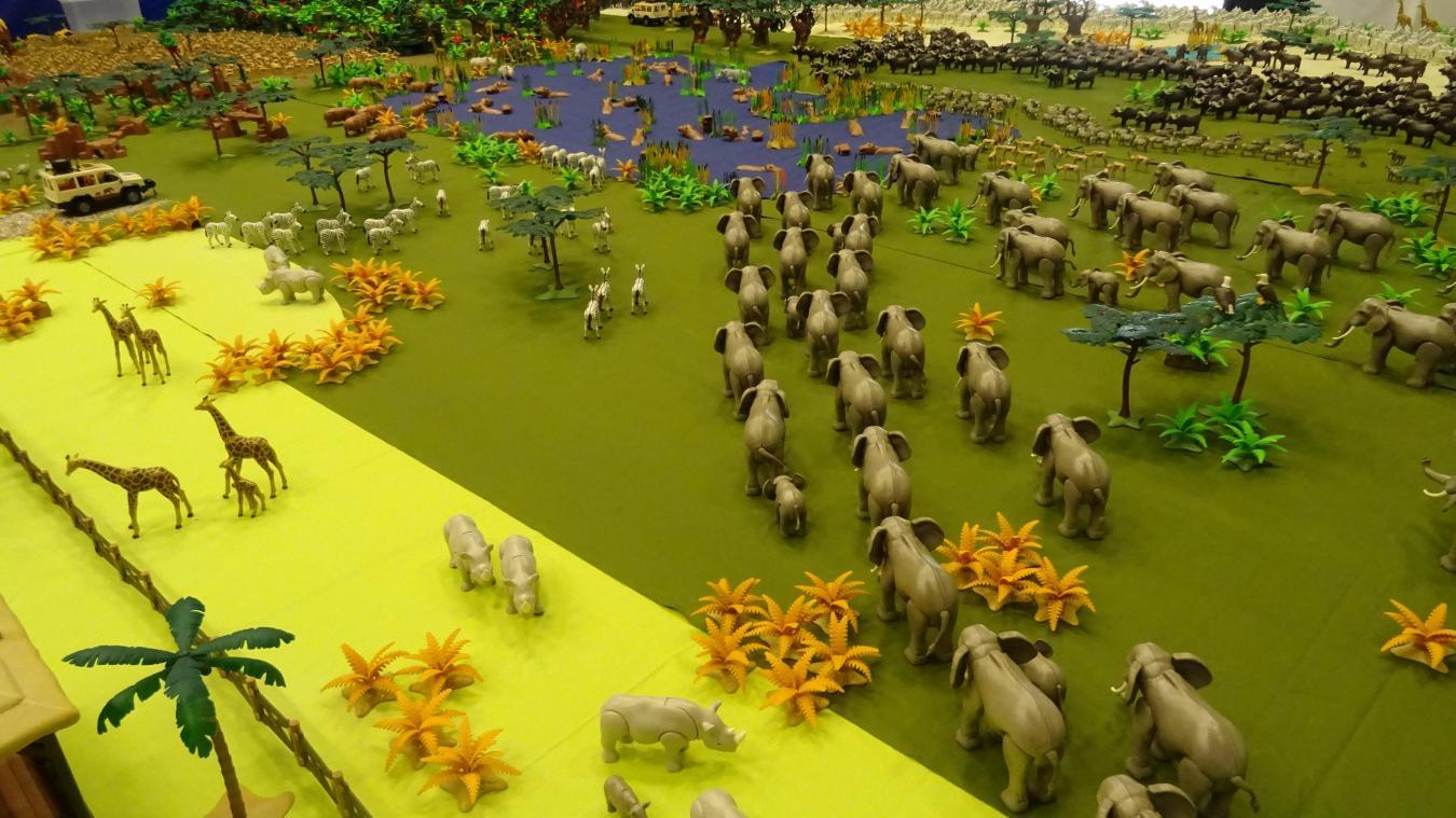 Playmobil animaux d'afrique