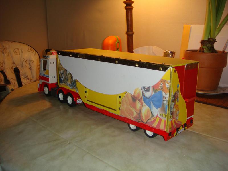 Playmobil roulotte de cirque