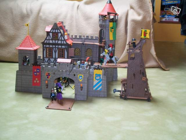 Playmobil chateau fort tour