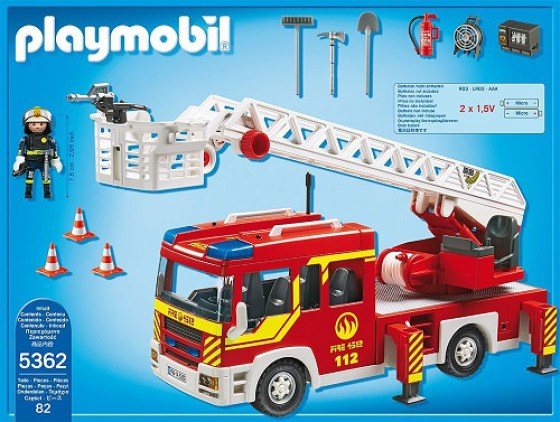 Playmobil city action fire engine 5362