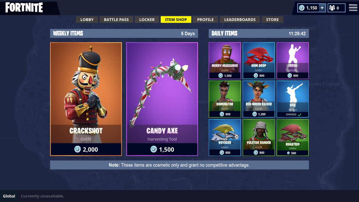 Fortnite shop preview