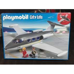 Avion playmobil city action 5395