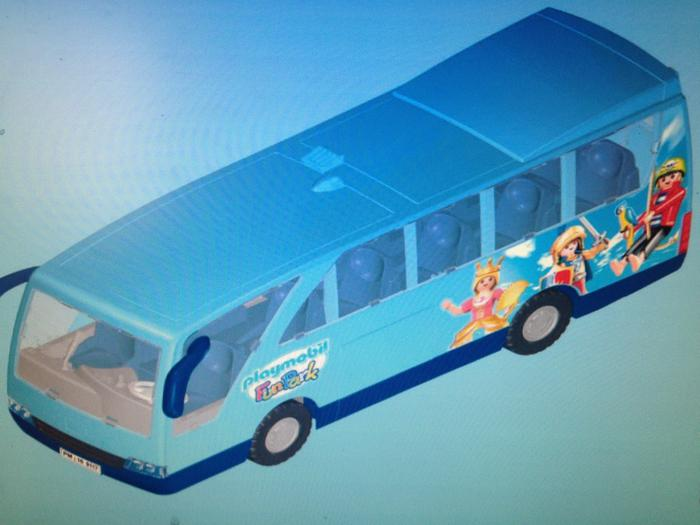Playmobil fun park bus