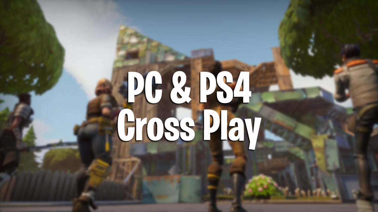 Fortnite ps4 for pc