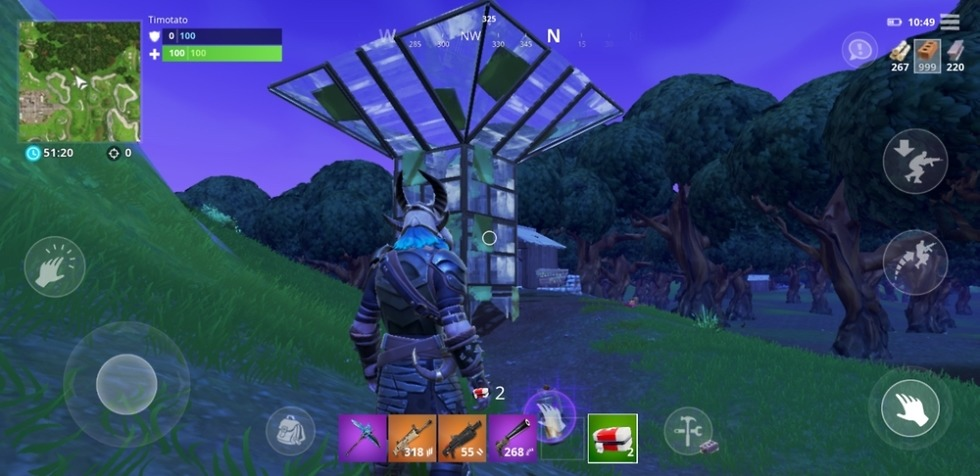 Fortnite beta galaxy