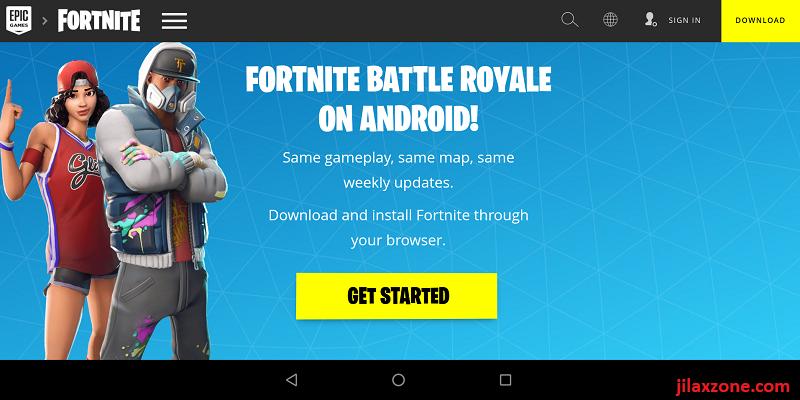 Fortnite android beta update
