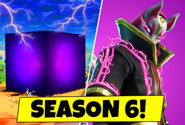 Fortnite skin de la saison 6